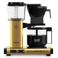 Moccamaster brushed brass | De Koffieplantage