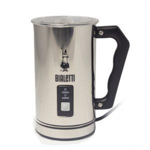 Bialetti Elektrische Melkopschuimer Silver | De Koffieplantage