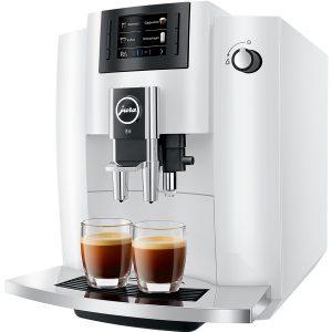 Jura E6 Pianowhite De Koffieplantage