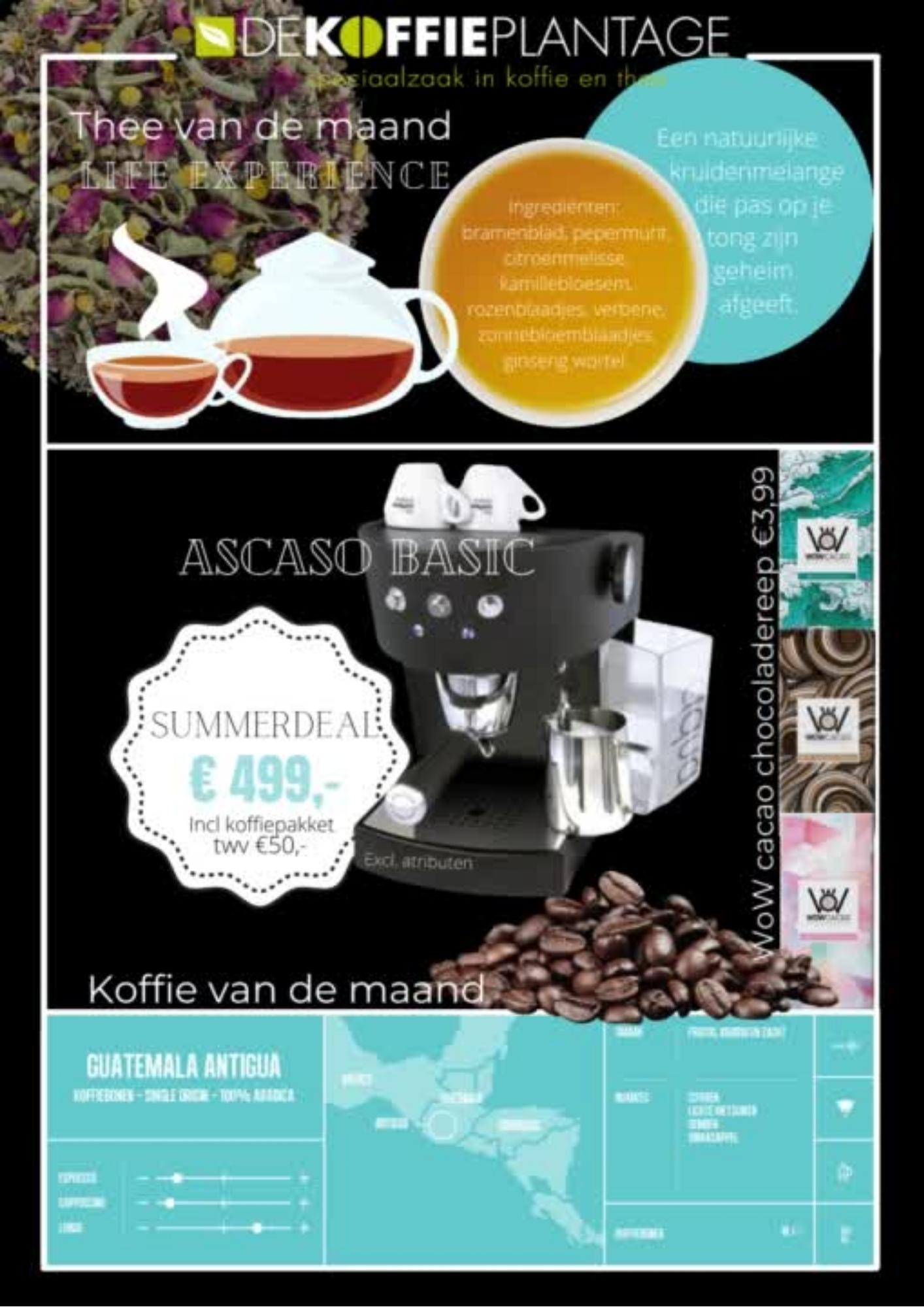 Nieuwsbrief Augustus de Koffieplantage