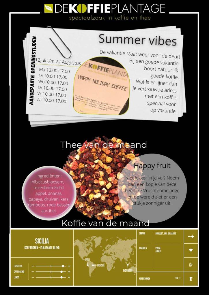 Nieuwsbrief Juli De Koffieplantage